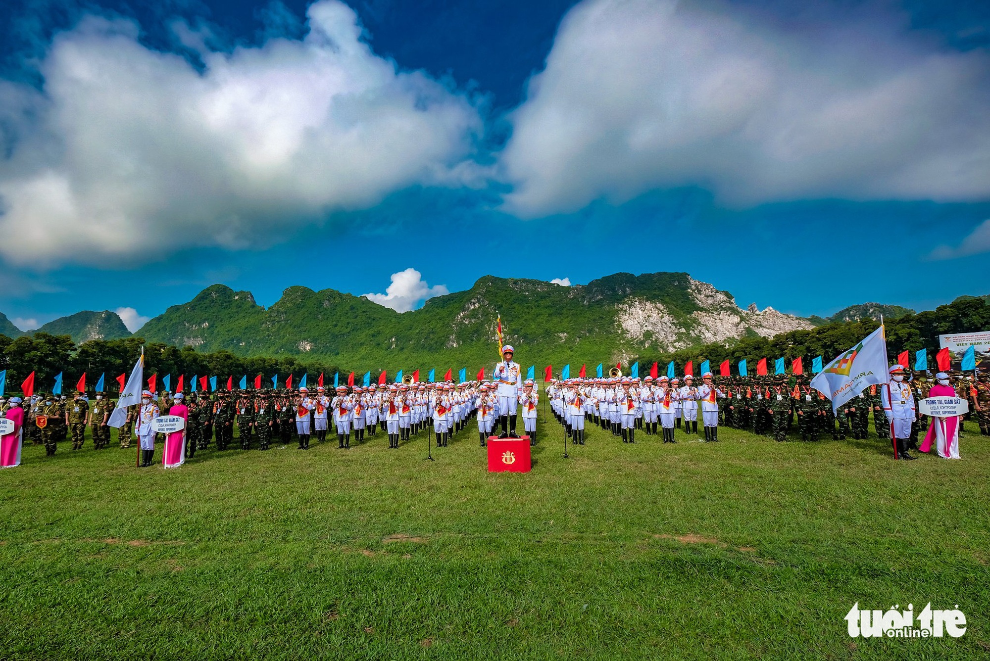 Events of 2021 International Army Games kick off in Vietnam