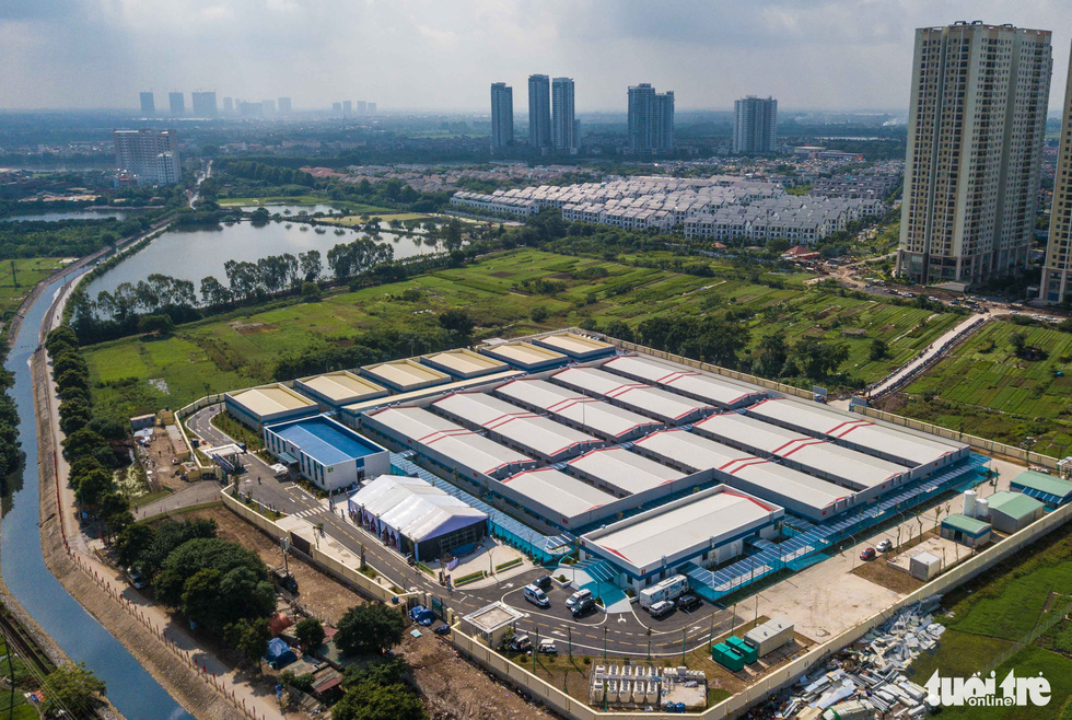 Hanoi opens 500-bed field hospital for severe coronavirus patients