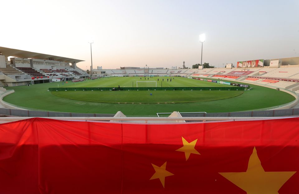 China's World Cup qualifier against Vietnam moved to Sharjah