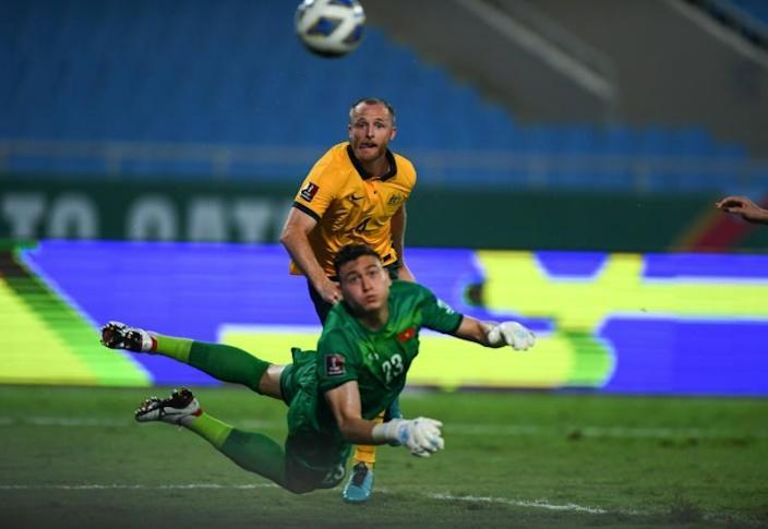 Record-breaking Australia beat Vietnam in World Cup qualifying