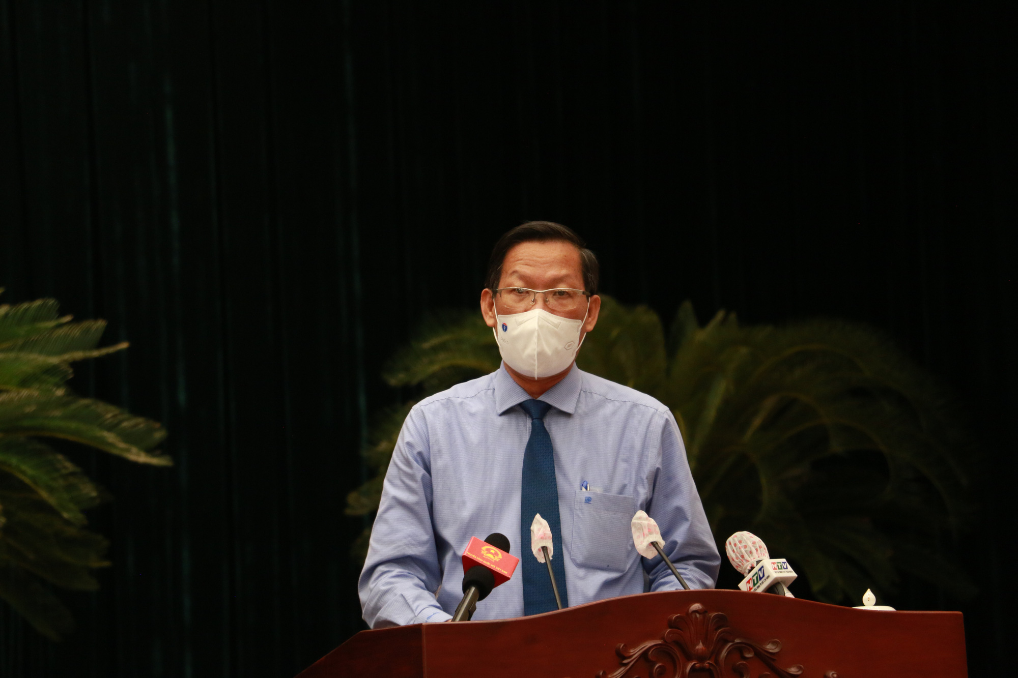 Chairman of the Ho Chi Minh City People's Committee Phan Van Mai. Photo: Thao Le / Tuoi Tre