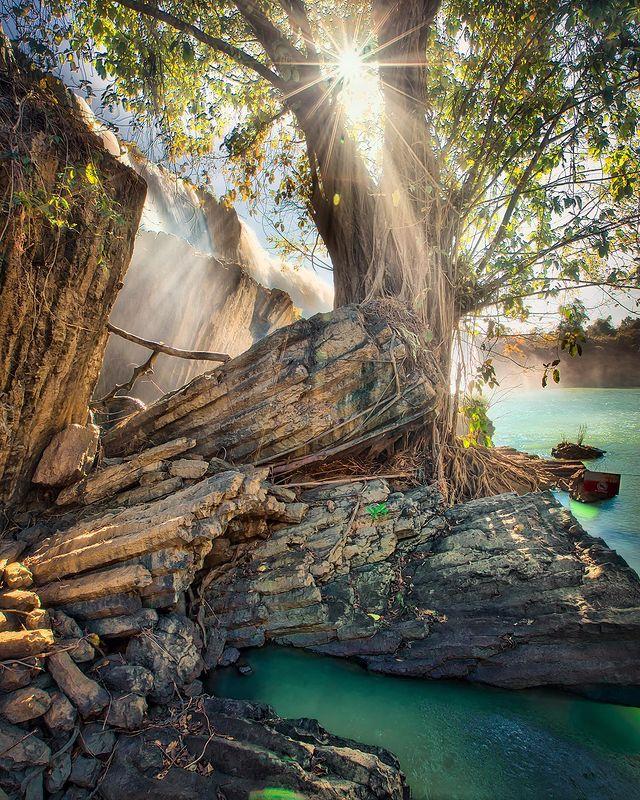 Dray Nur Waterfall in Dak Lak