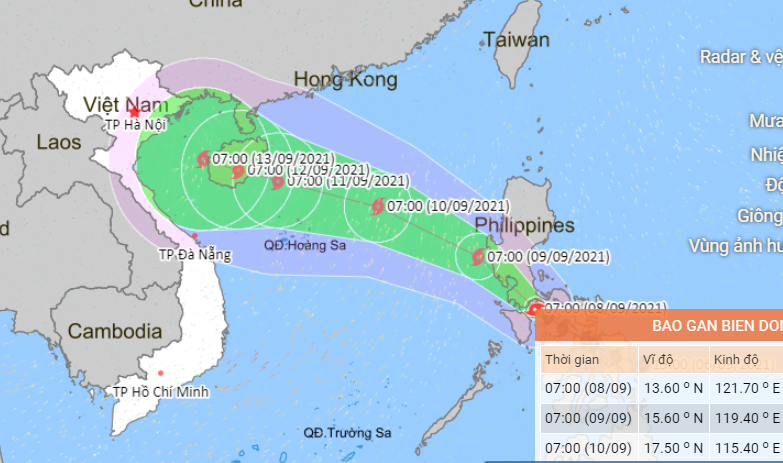 Vietnam mobilizes 500,000 military officers to prepare for Storm Conson