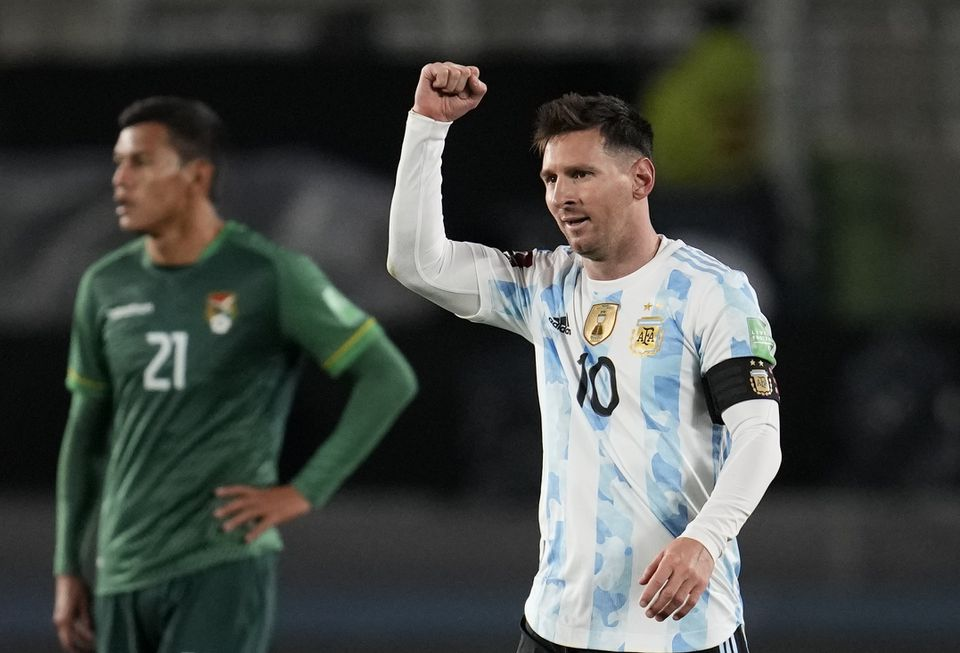 Messi overtakes Pele with hat-trick as Argentina beat Bolivia