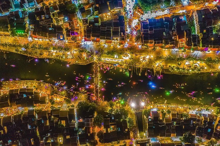 'A top down view of Hoi An ancient town, one of the most vibrant and colorful places in Vietnam.' Photo and words by Prabu Mohan