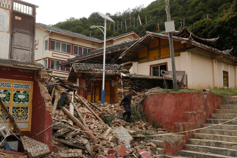 China launches emergency response after magnitude 6 earthquake hits Sichuan