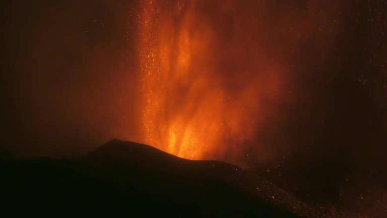 Cumbre Vieja volcano erupts in Spain. Photo: AFP
