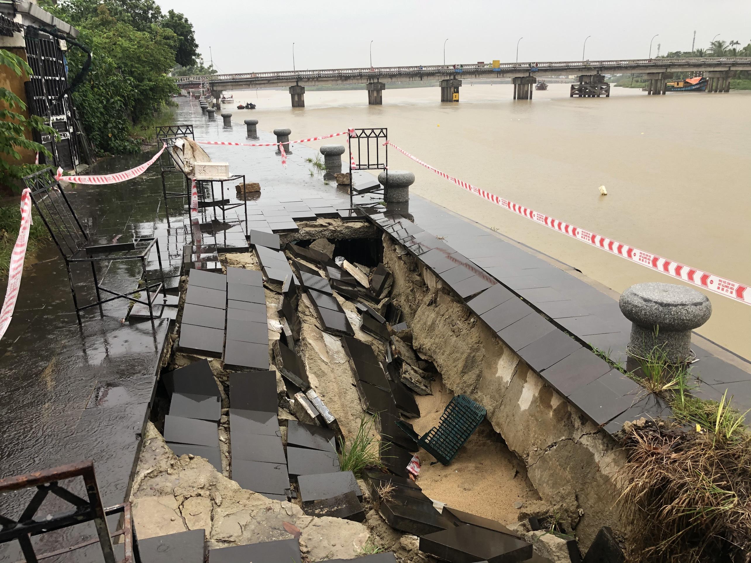 Vietnam's Hoi An suffers subsidence as rainy season starts