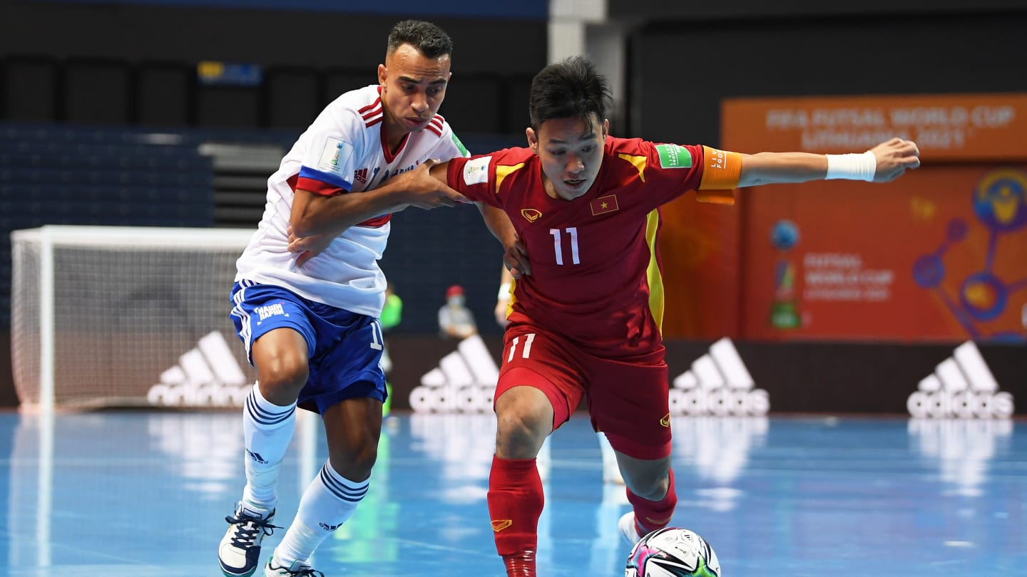 Vietnam exit FIFA Futsal World Cup with heads held high after narrow loss to Russia