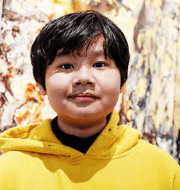 Teen artist Xeo Chu, a guest at the upcoming event Vietnam Days in Switzerland 2021. Photo courtesy of the Ministr of Foreign Affairs.