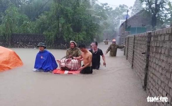 Torrential rain persists across Vietnam