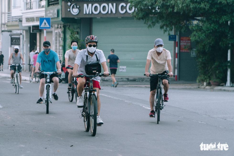 Outdoor exercise, sports resume in Hanoi