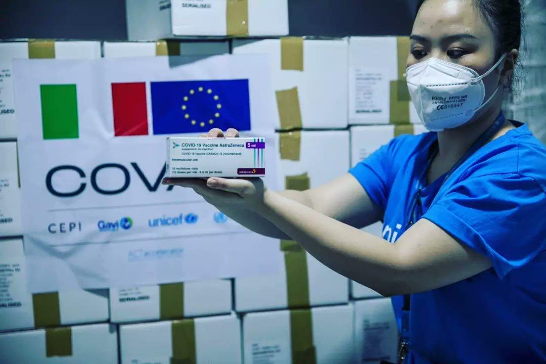 Italy gives Vietnam 1.2 million more COVID-19 vaccine doses: EU delegation