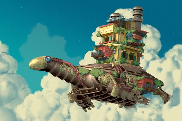 'Dau oc tren may' (Head in the cloud) by Ha Manh Hieu