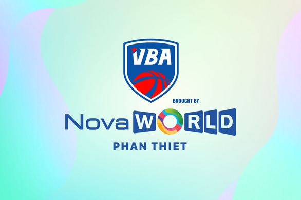 The new logo of the Vietnam Professional Basketball League.