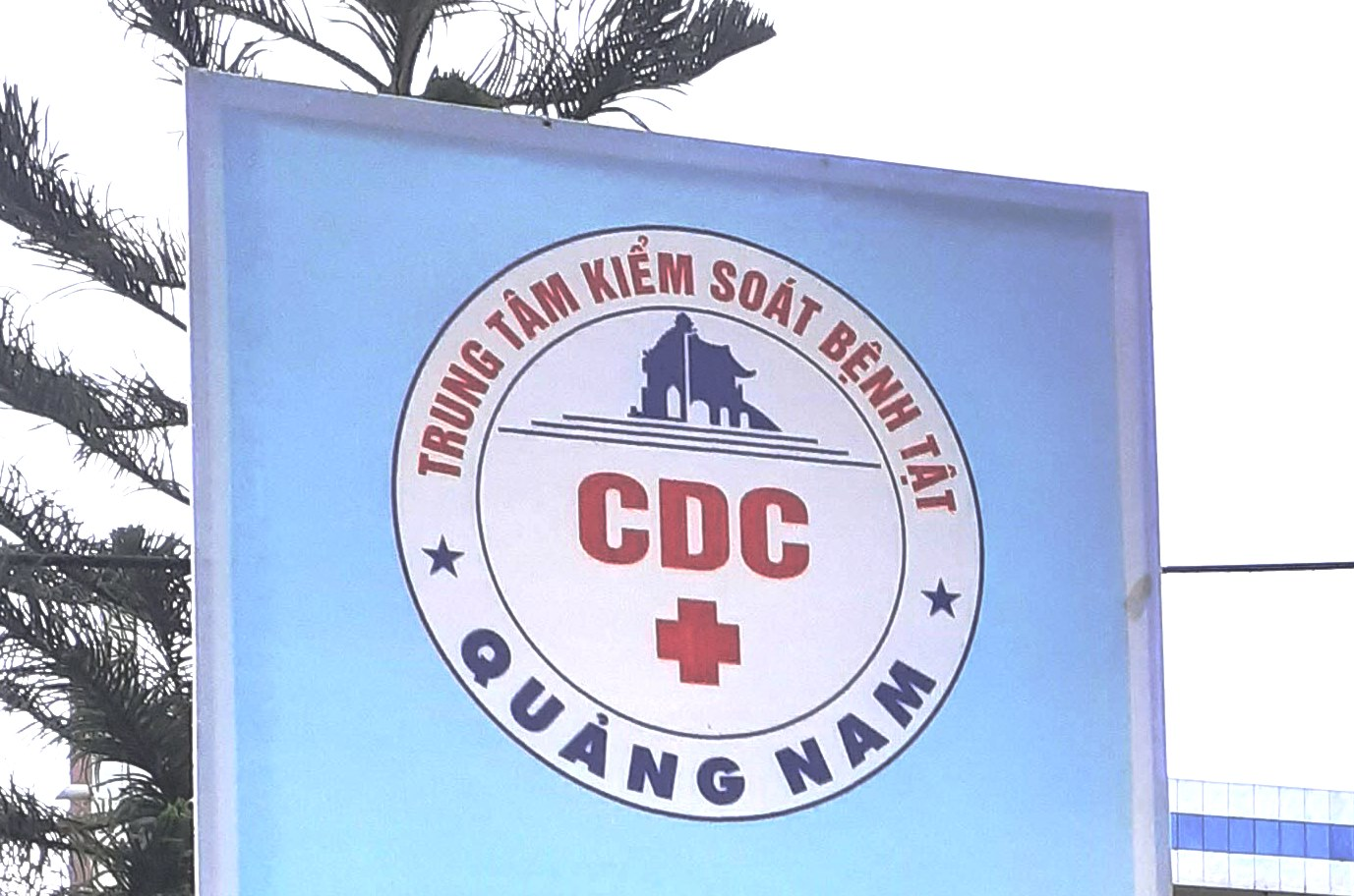This image shows a sign at the Center for Disease Control in Quang Nam Province, Vietnam. Photo: Stivi Cooke