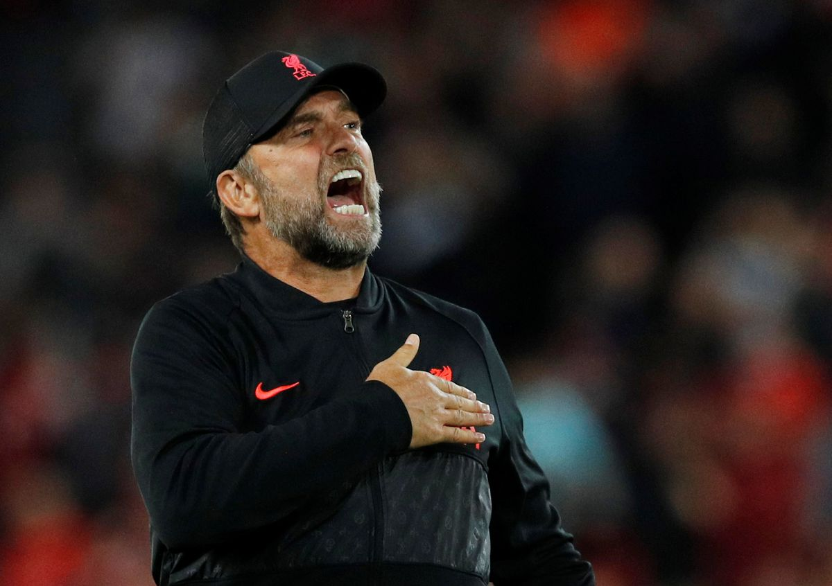 Liverpool boss Klopp compares anti-vax movement to drink driving