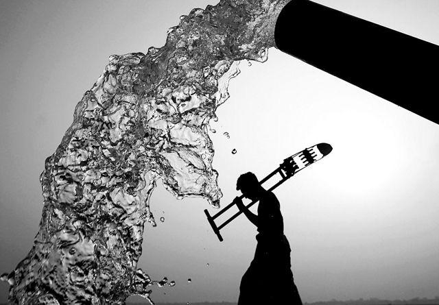 A photo by Kazi Arifuzzaman receives first place in the 'Water' category. Photo: Kazi Arifuzzaman