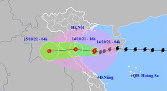 Typhoon Kompasu weakens into depression on way to Vietnam